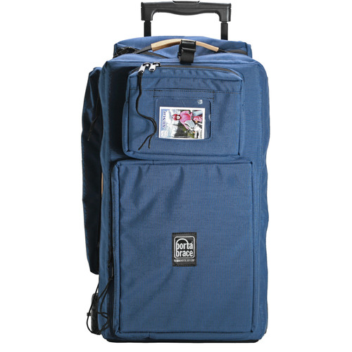 Porta Brace WPC-10RAUD Wheeled Production Case (Blue)