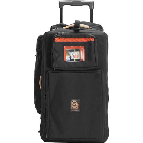 PortaBrace WPC-10RBAUD Wheeled Production Case (Black)