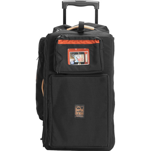 Porta Brace WPC-10RBAUD Wheeled Production Case (Black)