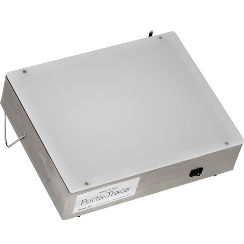 """Porta-Trace / Gagne 1012-2 Stainless Steel LED Light Box (10 x 12"""")"""