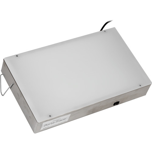"""Porta-Trace / Gagne 1118-1 Stainless Steel LED Light Box (11 x 18"""")"""
