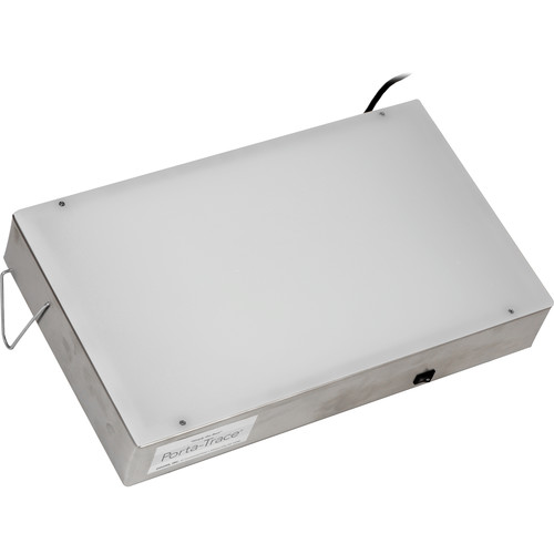 "Porta-Trace / Gagne 1118-2 Stainless Steel LED Light Box (11 x 18"")"