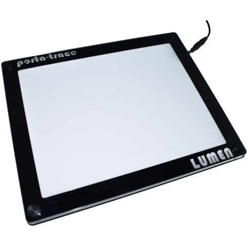 "Porta-Trace / Gagne Frameless Crystal LED LUMEN-Series Light Panel (11 x 18"")"