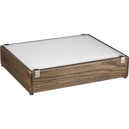 "Porta-Trace / Gagne LED Low Profile Lightbox (Walnut, 12 x 14"")"