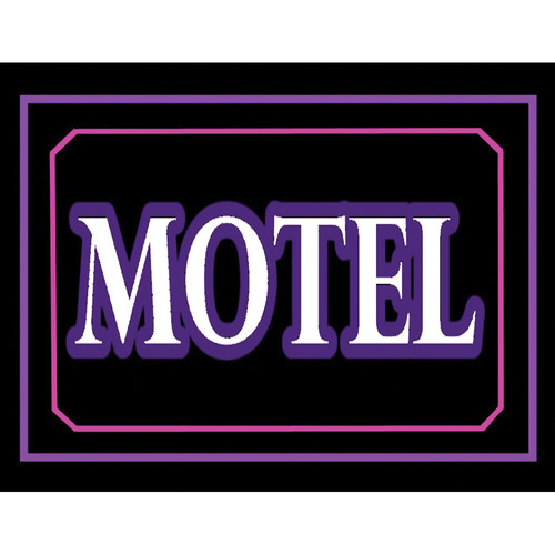 "Porta-Trace / Gagne LED Light Panel with Motel Logo (16 x 18"")"