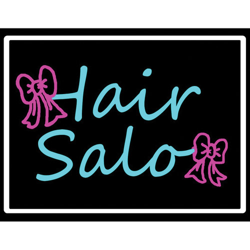 "Porta-Trace / Gagne LED Light Panel with Hair Salon Logo (16 x 18"")"