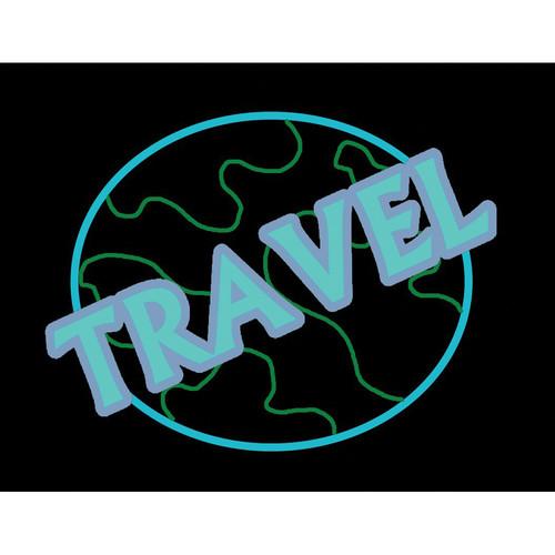 "Porta-Trace / Gagne LED Light Panel with Travel Logo (16 x 18"")"