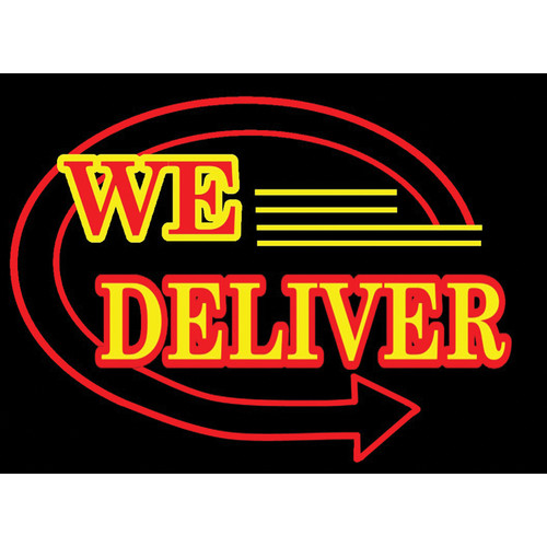 """Porta-Trace / Gagne LED Light Panel with We Deliver Logo (16 x 18"""")"""