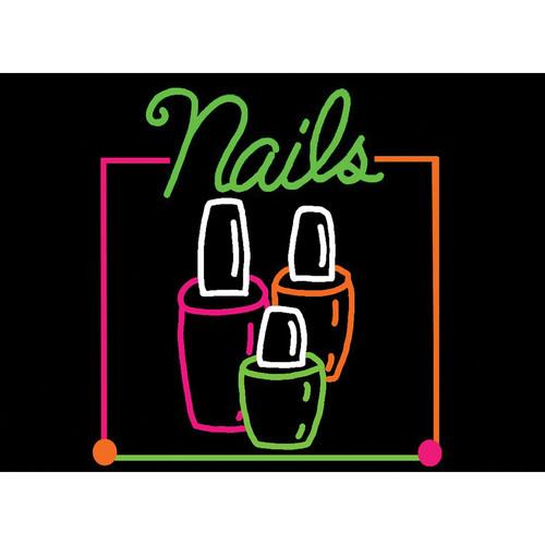"Porta-Trace / Gagne LED Light Panel with Nails Logo (18 x 24"")"