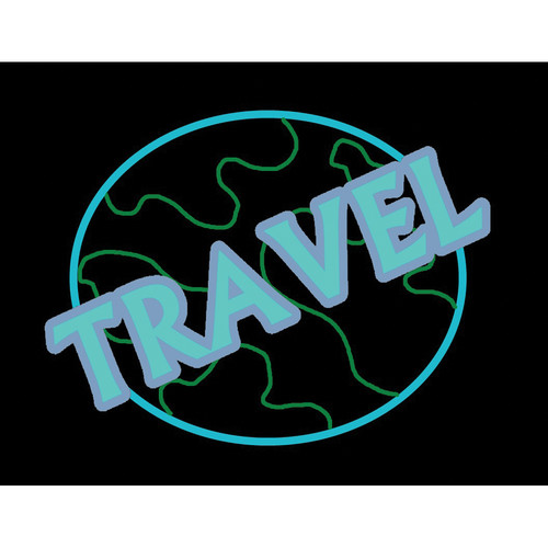 "Porta-Trace / Gagne LED Light Panel with Travel Logo (18 x 24"")"