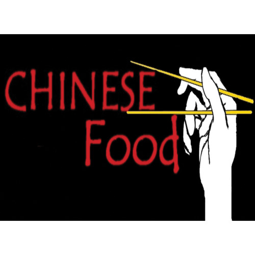 "Porta-Trace / Gagne LED Light Panel with Chinese Food Logo (24 x 36"")"