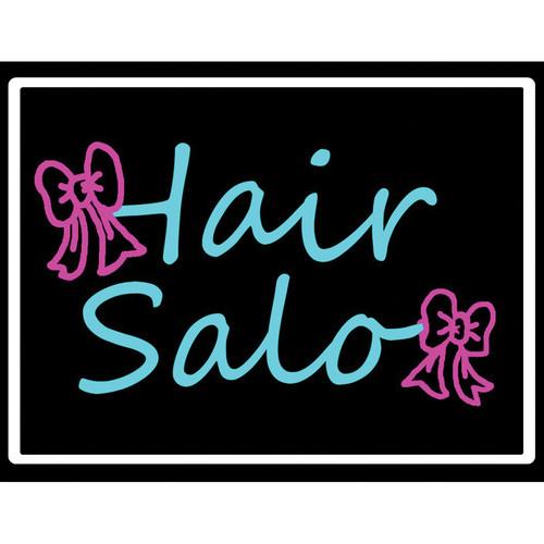 "Porta-Trace / Gagne LED Light Panel with Hair Salon Logo (24 x 36"")"