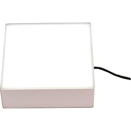 "Porta-Trace / Gagne 6x6"" LED ABS Plastic Light Box (White)"