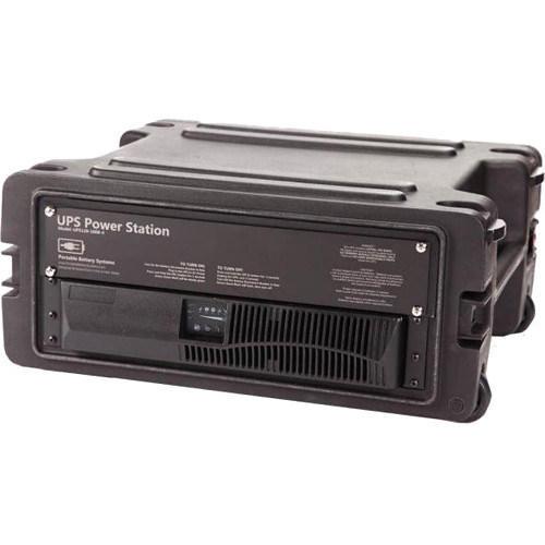 Portable Battery Systems UPS with Shock Mounted Case (1500VA, 120 VAC)