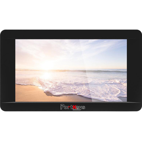 "PORTKEYS LH5HDR-DK-B 5"" HDMI Touchscreen On-Camera Monitor for BMPCC"