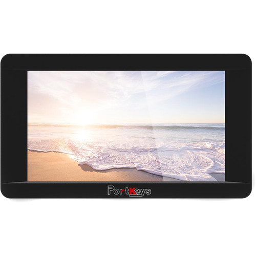 """PORTKEYS LH5HDRLA-C 5"""" HDMI Touchscreen On-Camera Monitor for Canon 5D/5D2/5D3/6D"""