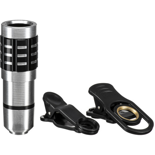 PoserSnap Mobile 12X Zoom Telephoto Clip Lens