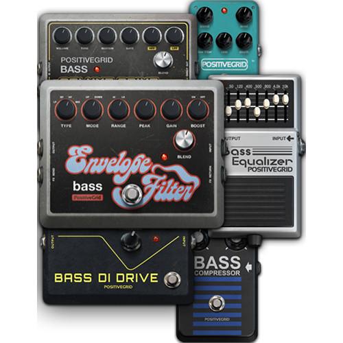 Positive Grid Bass Expansion Pack - Additional Stomp Box Emulations for BIAS FX Desktop (Download)