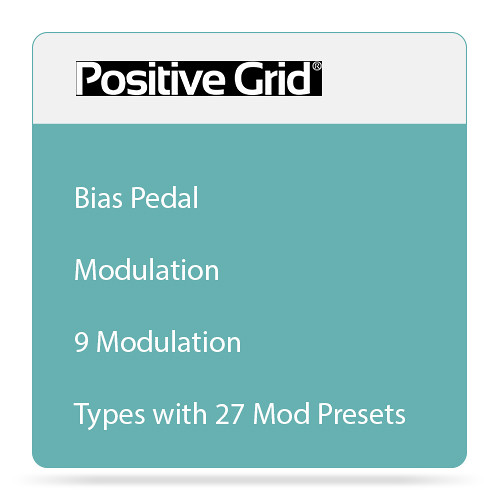 Positive Grid BIAS Delay Modulation - Echo Pedal Emulation (Download)