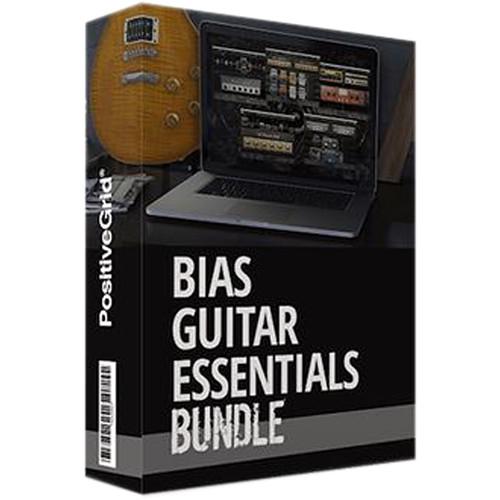 Positive Grid BIAS Guitar Essentials Bundle Guitar Amp and Effect Emulation Plug-Ins (Download)