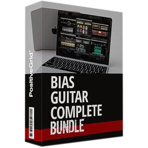 Positive Grid BIAS Guitar Complete Bundle Guitar Amp and Effect Emulation Plug-Ins (Download)