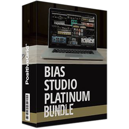 Positive Grid BIAS Studio Platinum Bundle - Guitar Amp and Effect Emulation Plug-Ins (Download)