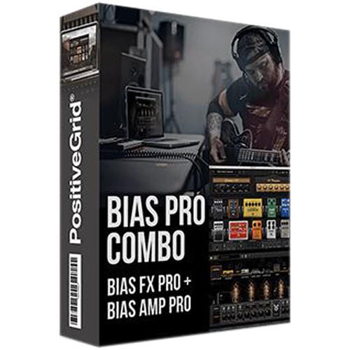 Positive Grid BIAS Pro Combo Guitar Amp and Effect Emulation Plug-In Bundle (Download)