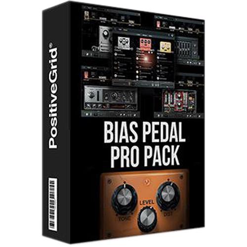 Positive Grid BIAS Pedal Pro Pack - Guitar Pedal Emulation Plug-In Bundle (Download)