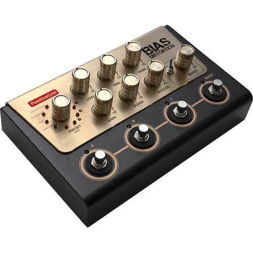 Positive Grid BIAS Distortion - Tone Match Distortion Pedal for Guitar and Bass