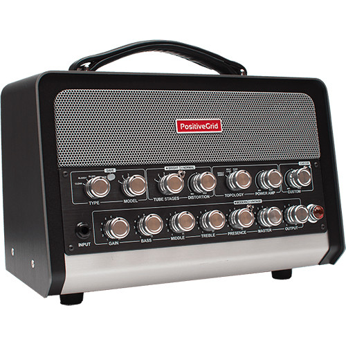 Positive Grid BIAS Head - Amp Match Amplifier for Guitar and Bass (600W)