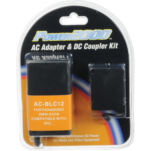 Power2000 AC-BLC12 AC Adapter and DC Coupler Kit
