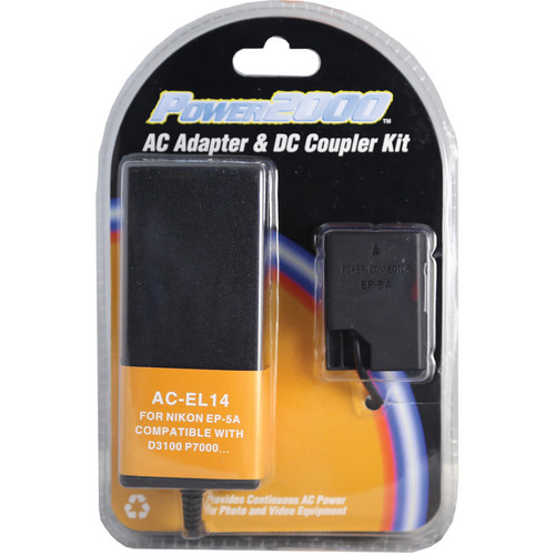 Power2000 AC-EL14 AC Adapter and DC Coupler Kit