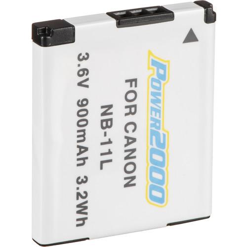 Power2000 NB-11L Lithium-Ion Battery Pack (3.6V, 900mAh)