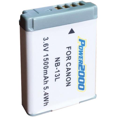 Power2000 ACD-431 NB-13L Lithium-Ion Battery Pack (3.6V, 1500mAh)