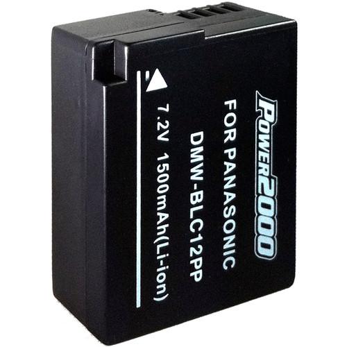 Power2000 DMW-BLC12PP Lithium-Ion Battery Pack (7.2V, 1500mAh)