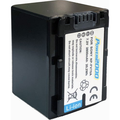 Power2000 NP-FV70A-Series Lithium-Ion Battery Pack