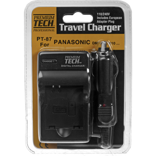 Power2000 PT-87 Battery Charger for DMW-BCN10 Battery