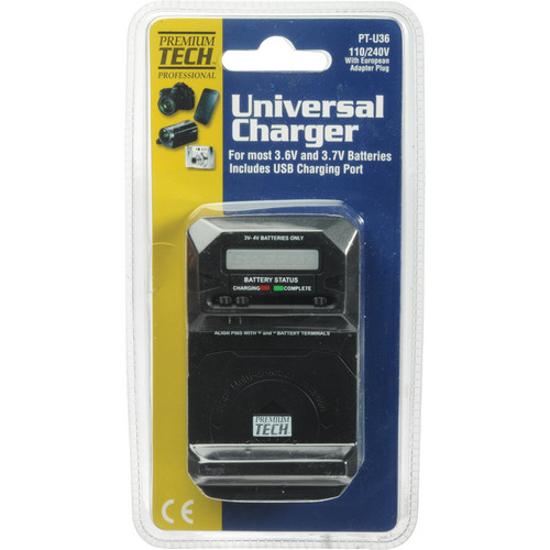 Power2000 PT-U36 Universal Charger for 3-4V Batteries