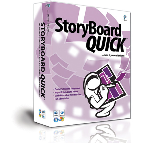 Power Production StoryBoard Quick (Academic Pricing, 50-99 Licenses)