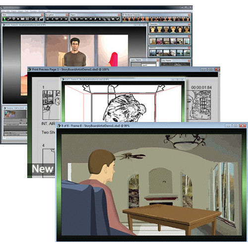 Power Production StoryBoard Artist 5.1 for Mac/Windows