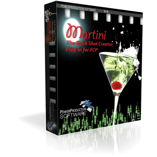 Power Production Martini Quickshot Creator (Academic Pricing, 5-9 Licenses)