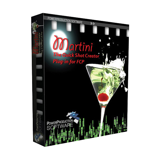 Power Production Martini Quickshot Creator (Academic Pricing)