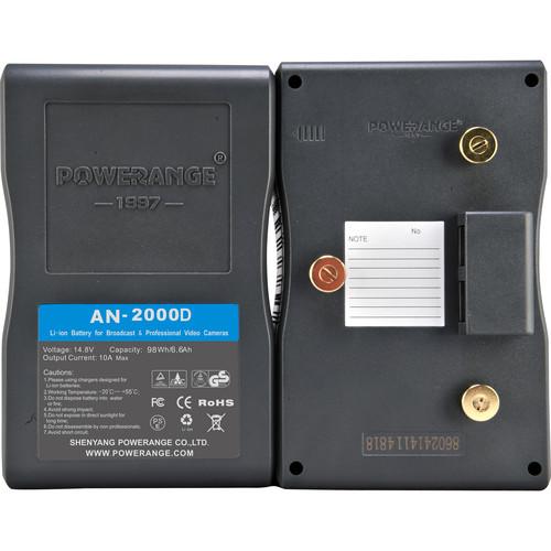 POWERANGE PR-AN-2000D 98Wh TSA-Friendly Battery (GoldMount)