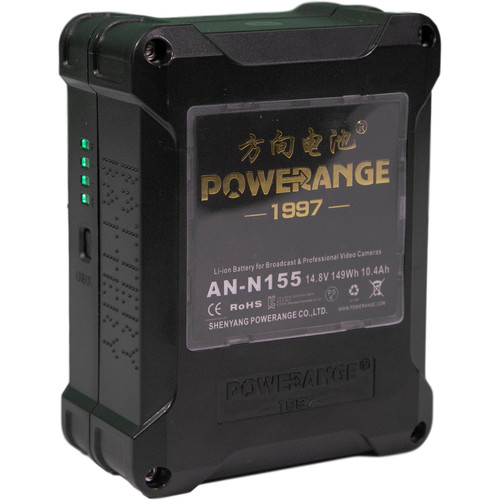 POWERANGE V-Mount Lithium-Ion Mini Battery (155Wh, 14.8V)