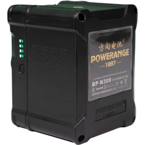 POWERANGE V-Mount Lithium-Ion Mini Battery (300Wh, 14.8V)