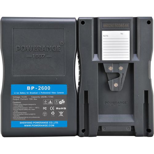 POWERANGE PR-BP-2600 260Wh 14.8V Battery (V-Mount)