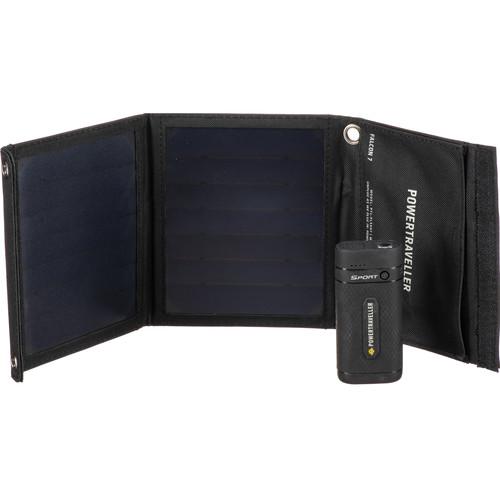 Powertraveller Intl Sport 25 Power Pack Solar Kit