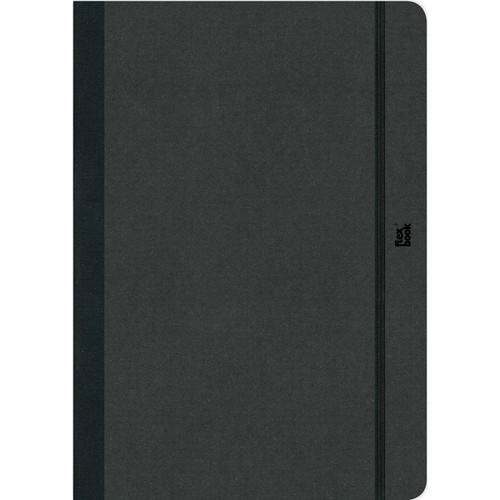"Prat Flexbook Notebook with 192 Blank Pages (Black, 3.5 x 5.5"")"