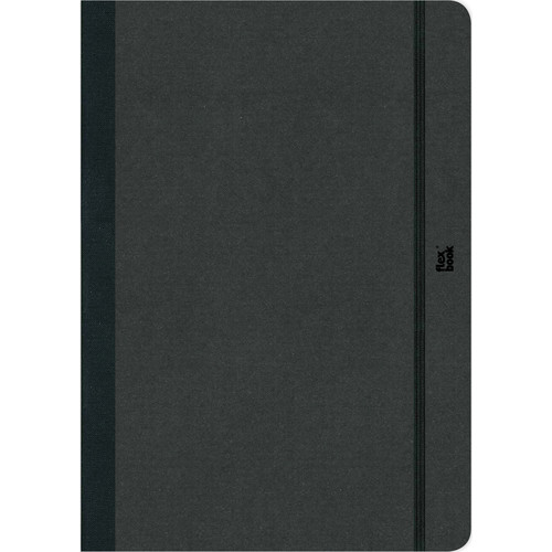 """Prat Flexbook Notebook with 192 Ruled Pages (Black, 5 x 8.25"""")"""