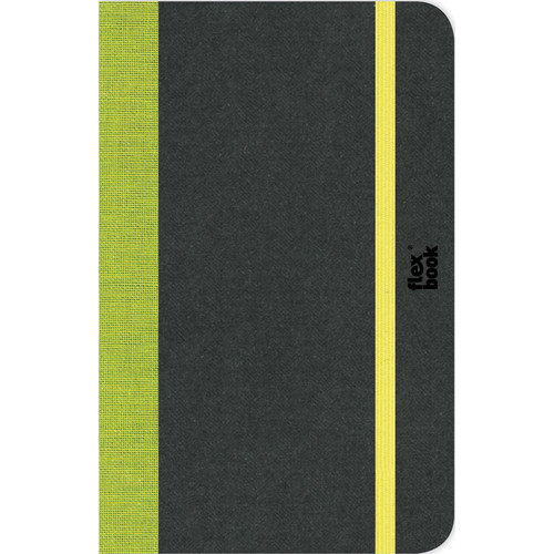 """Prat Flexbook Notebook with 192 Ruled Pages (Lime Green, 3.5 x 5.5"""")"""